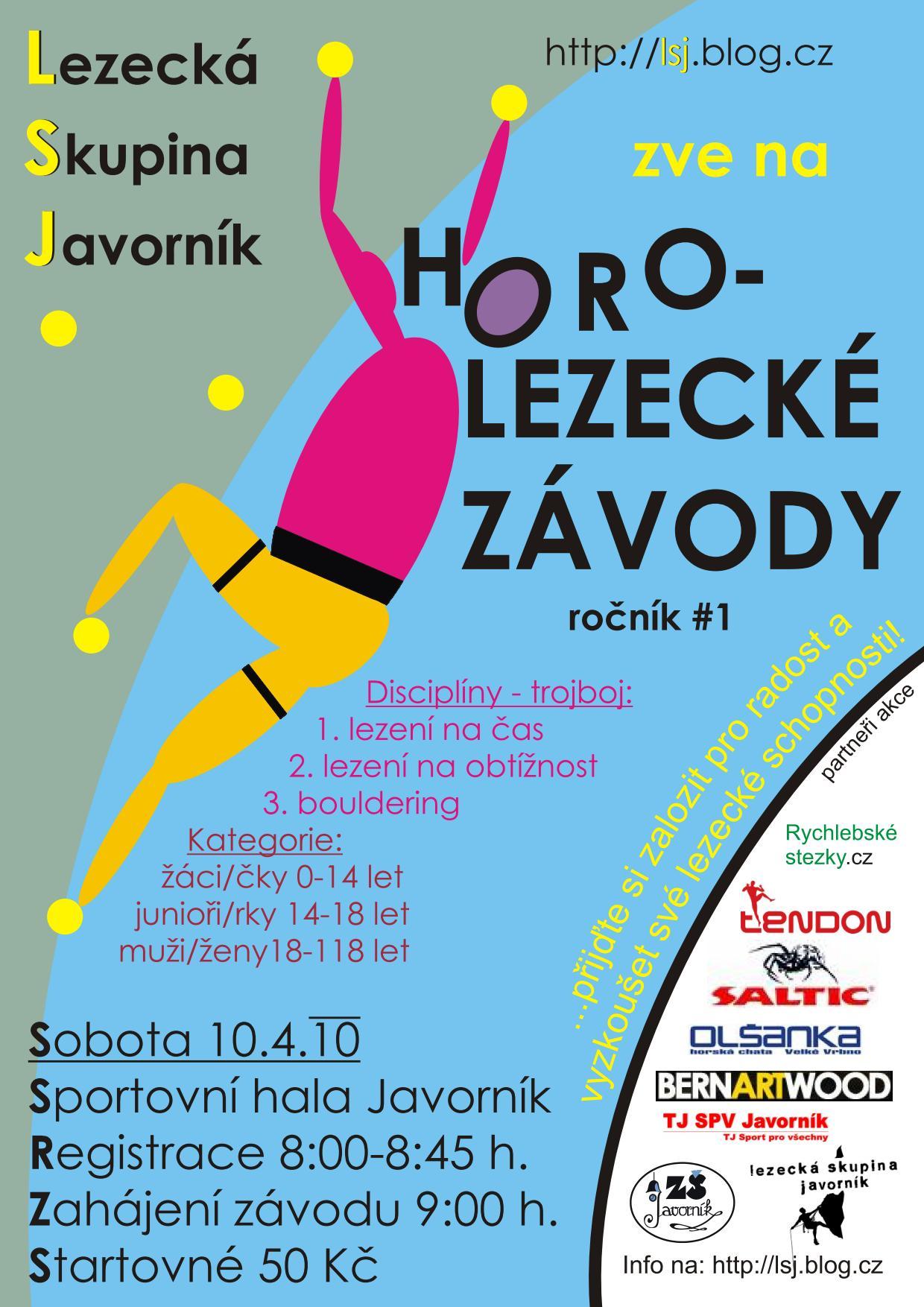 Lezecké závody Javorník 2010