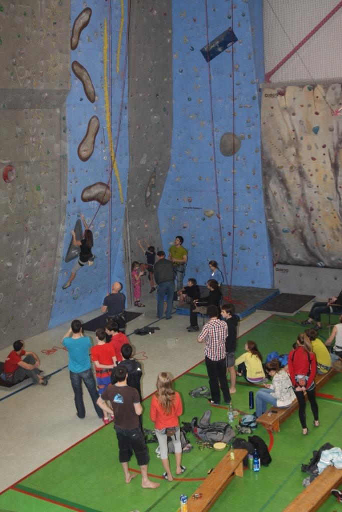 lezecké závody v únoru 2013