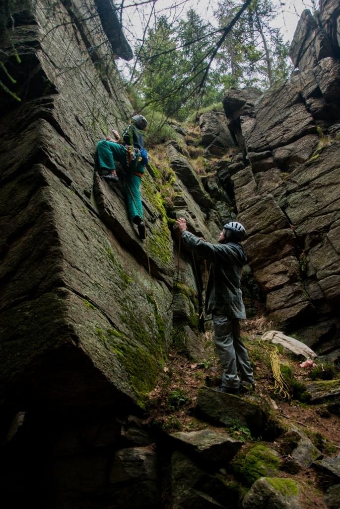 Štěpánské lezení se Štěpánem