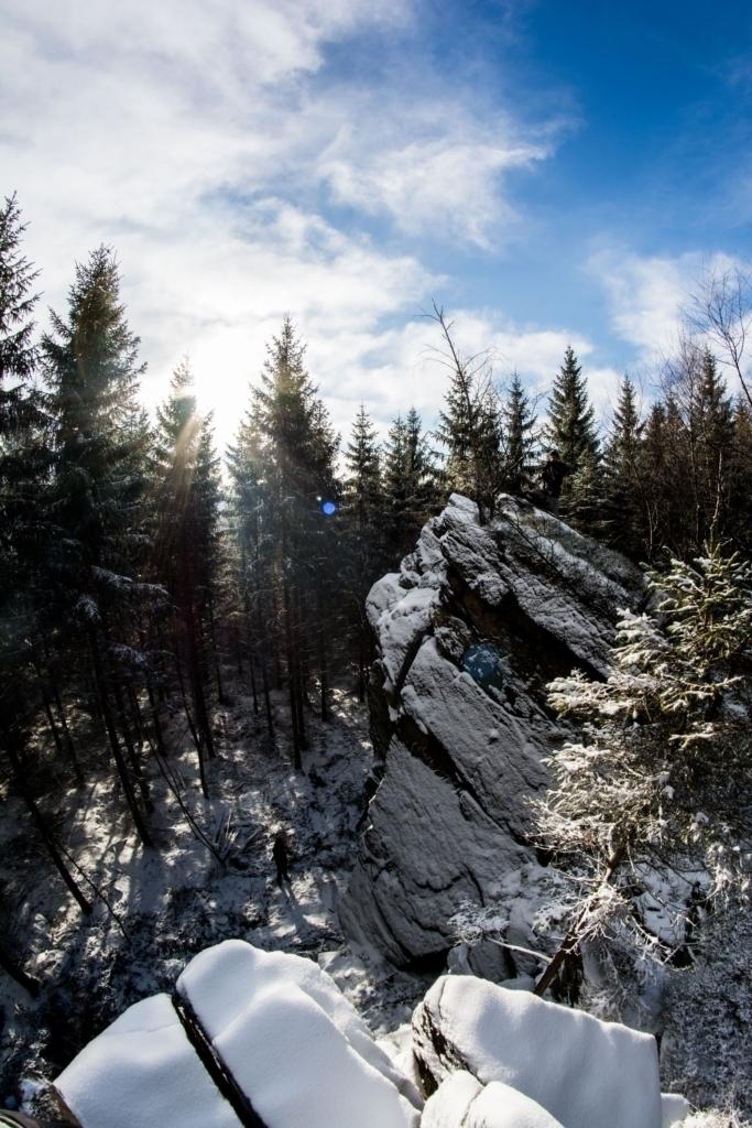 Štěpánské lezení na Liščích