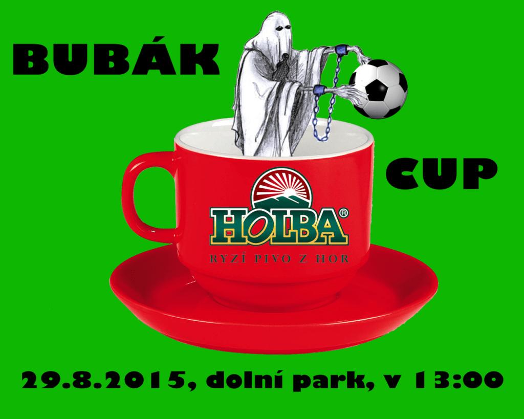 Bubakcup + oddílová akce 29.8.2015