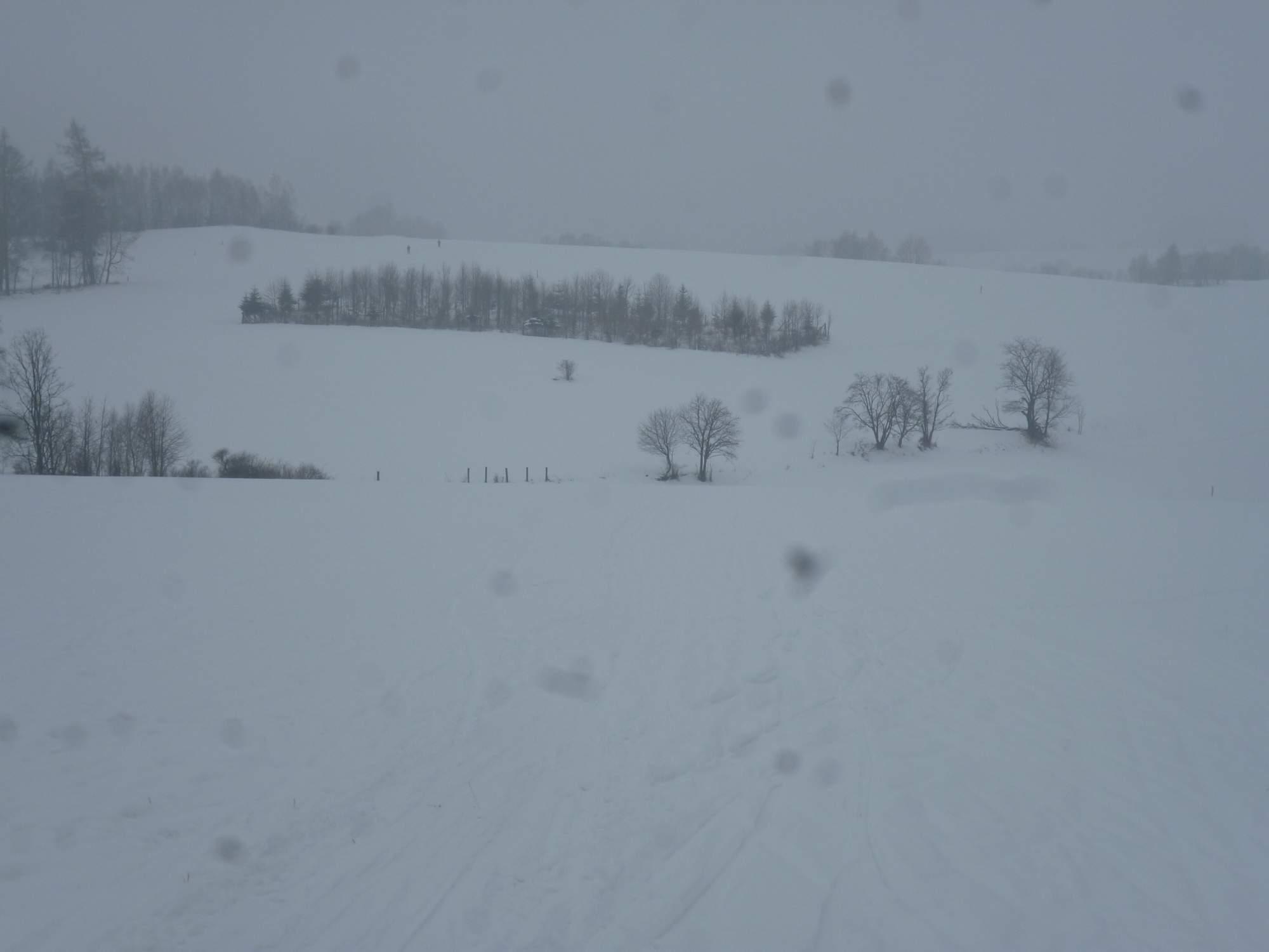Bílá stopa v Branné