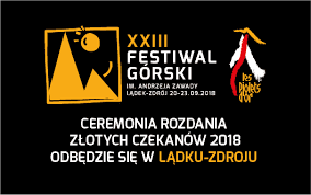 XXIII FESTIWAL GÓRSKI 20.-23. 9. 2018