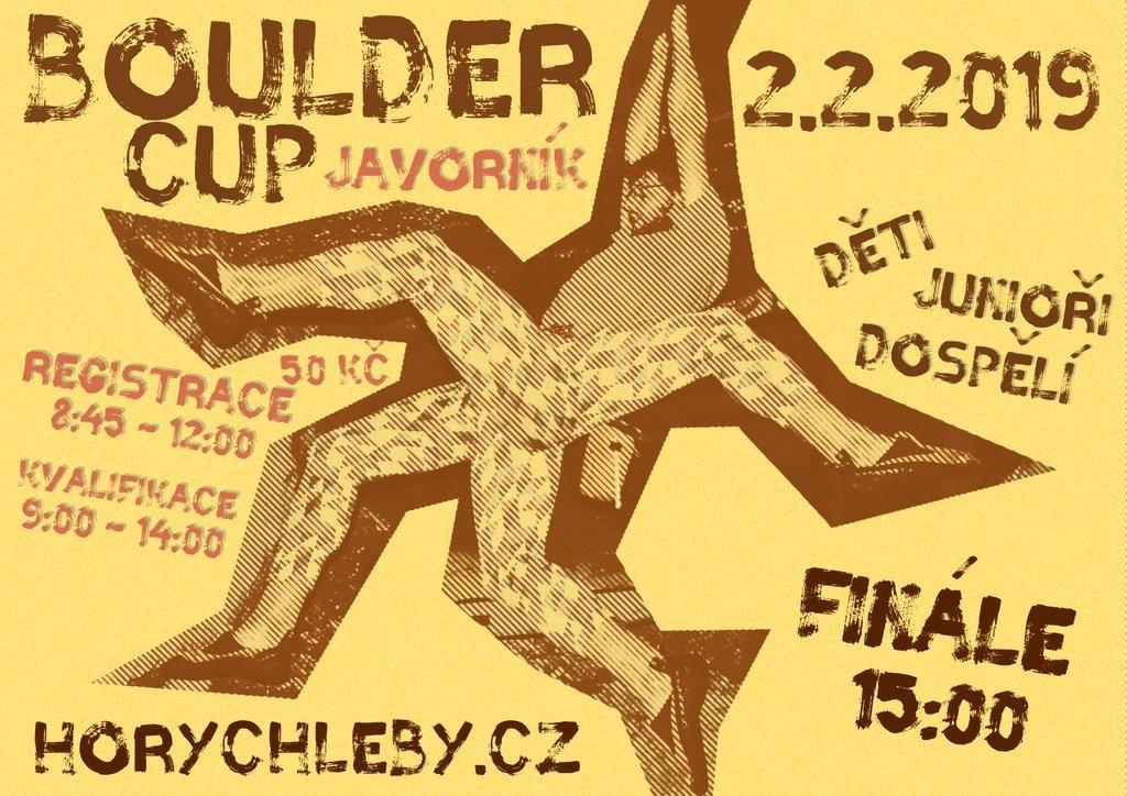 BOULDER CUP 2019 – 2. února 2019