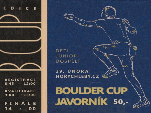 BOULDER CUP 2020 – 29. února 2020
